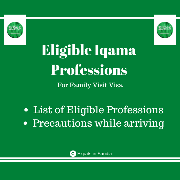 Eligible Iqama Professs