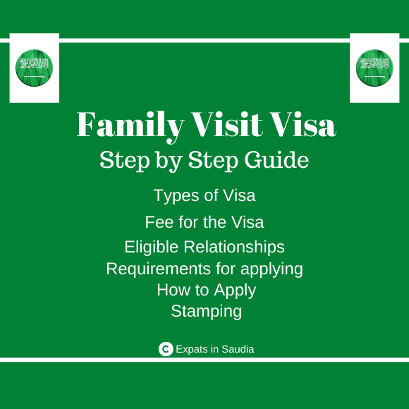 Family Visit Visa in Saudi Arabia. A Complete Step by Step Guide