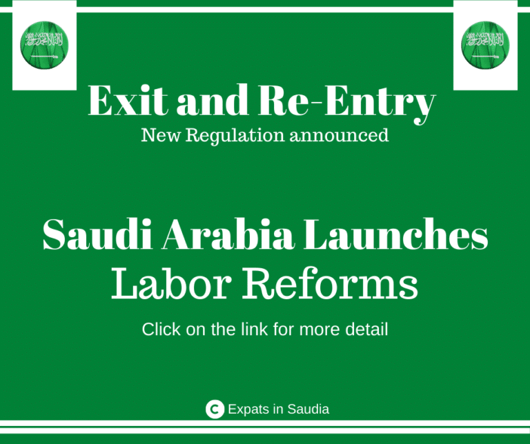 New Labor reforms regarding Exit and Re-entry Visa announced