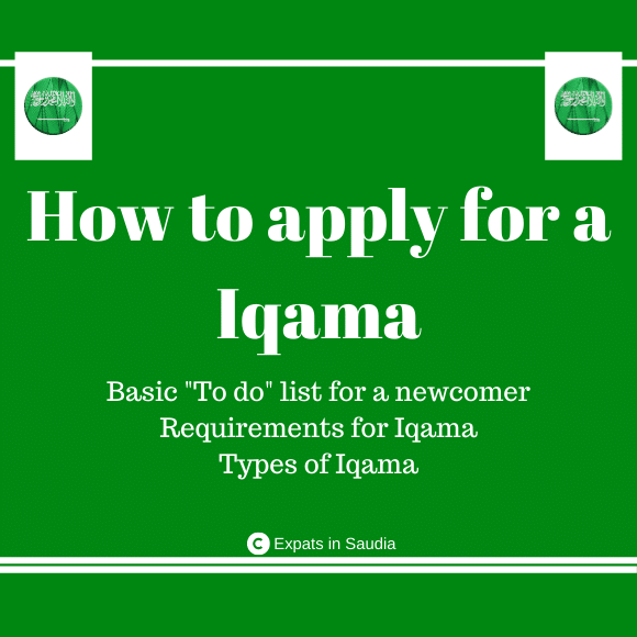 Apply for Iqama