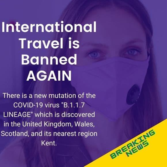 Ban On International Travel