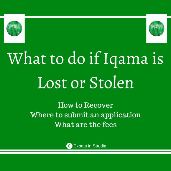 Iqama is Lost