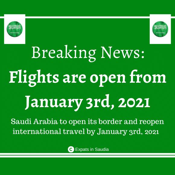 Resumption of International Flights
