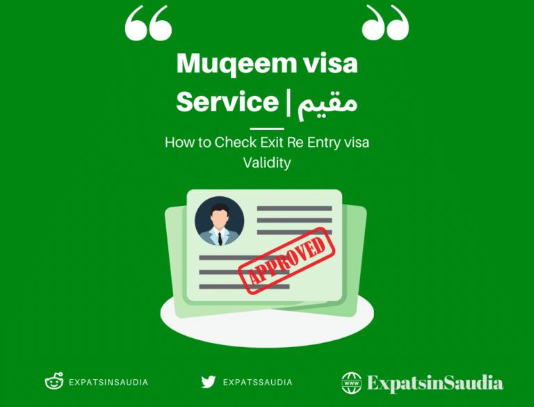 Muqeem Visa Service