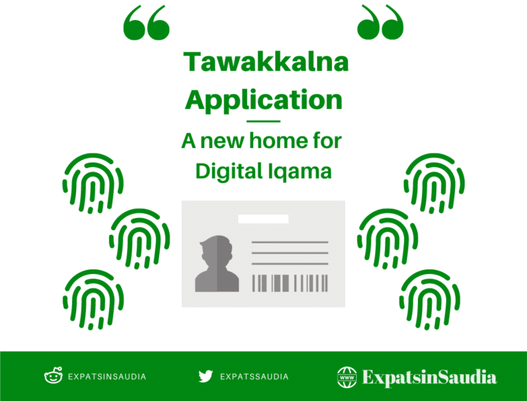 Tawakkalna Application - Digital ID