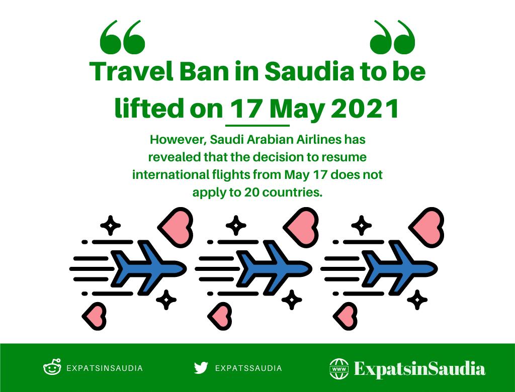 Travel Ban in Saudia