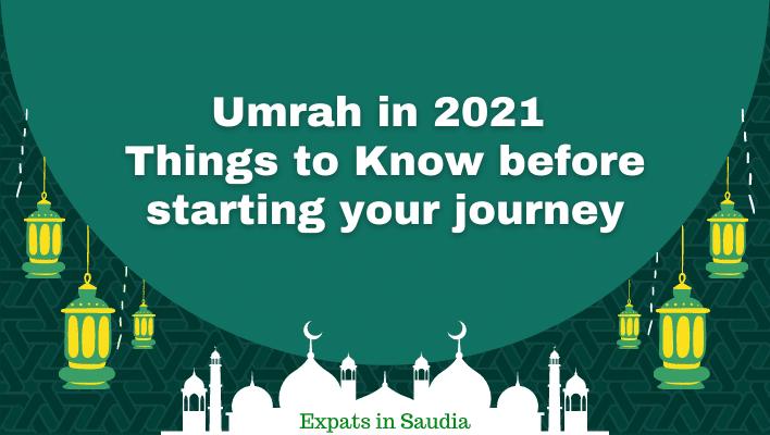 Umrah in 2021