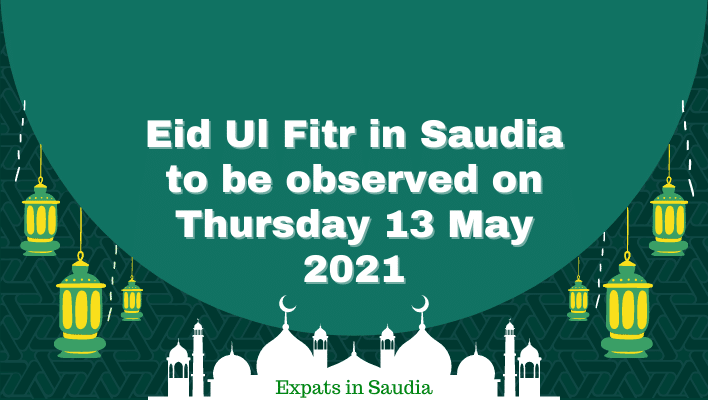 Eid Ul Fitr in Saudia