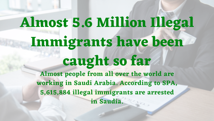 Almost 5.6 Million Illegal Immigrants have been caught so far