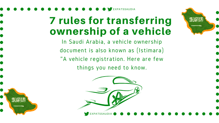7 rules for transferring ownership of a vehicle