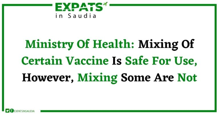 MIXING OF CERTAIN VACCINE IS SAFE FOR USE, HOWEVER, MIXING SOME ARE NOT