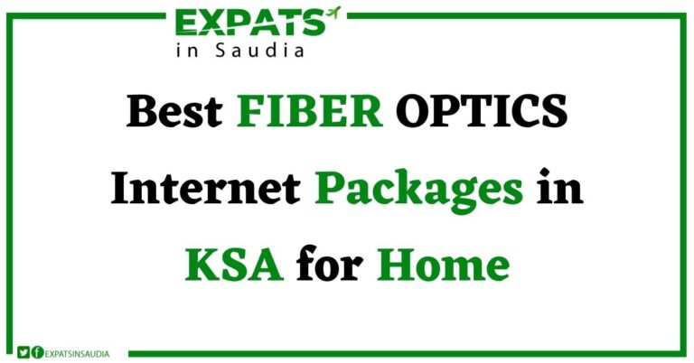 Best FIBER OPTICS Internet Packages in KSA for Home: