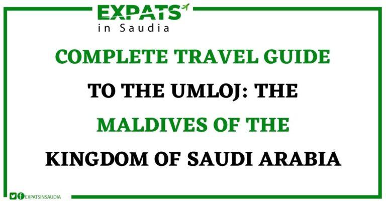 UMLOJ: The Maldives of the Kingdom of Saudi Arabia