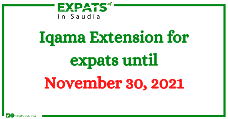 Iqama Extension for expats