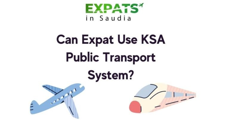 Can Expat Use KSA Public Transport System?