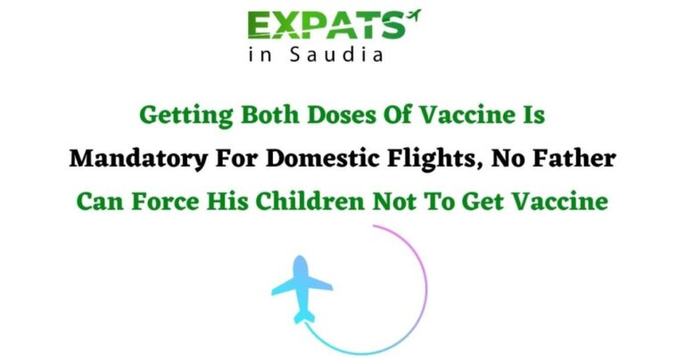 Getting Both Doses Of Vaccine Is Mandatory For Domestic Flights, No Father Can Force His Children Not To Get Vaccine