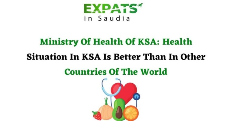 Ministry Of Health Of KSA: Health Situation In KSA Is Satisfactory Than In Other Countries Of The World