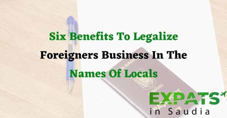 Six Benefits To Legalize Foreigners Business In The Names Of Locals